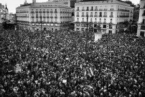 Puerta del Sol de Madrid. Foto de Álvaro Minguito.